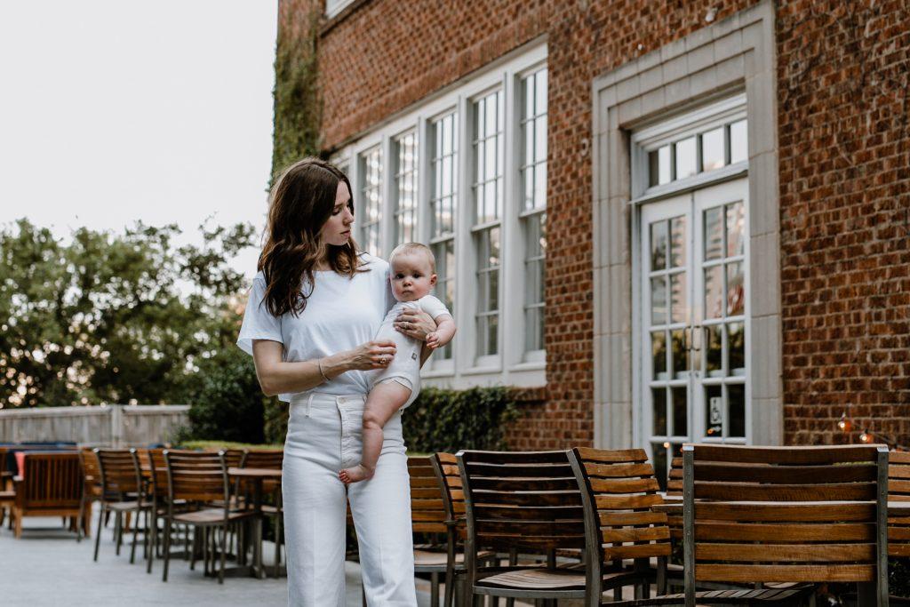 White Denim in Minimalist Fashion
